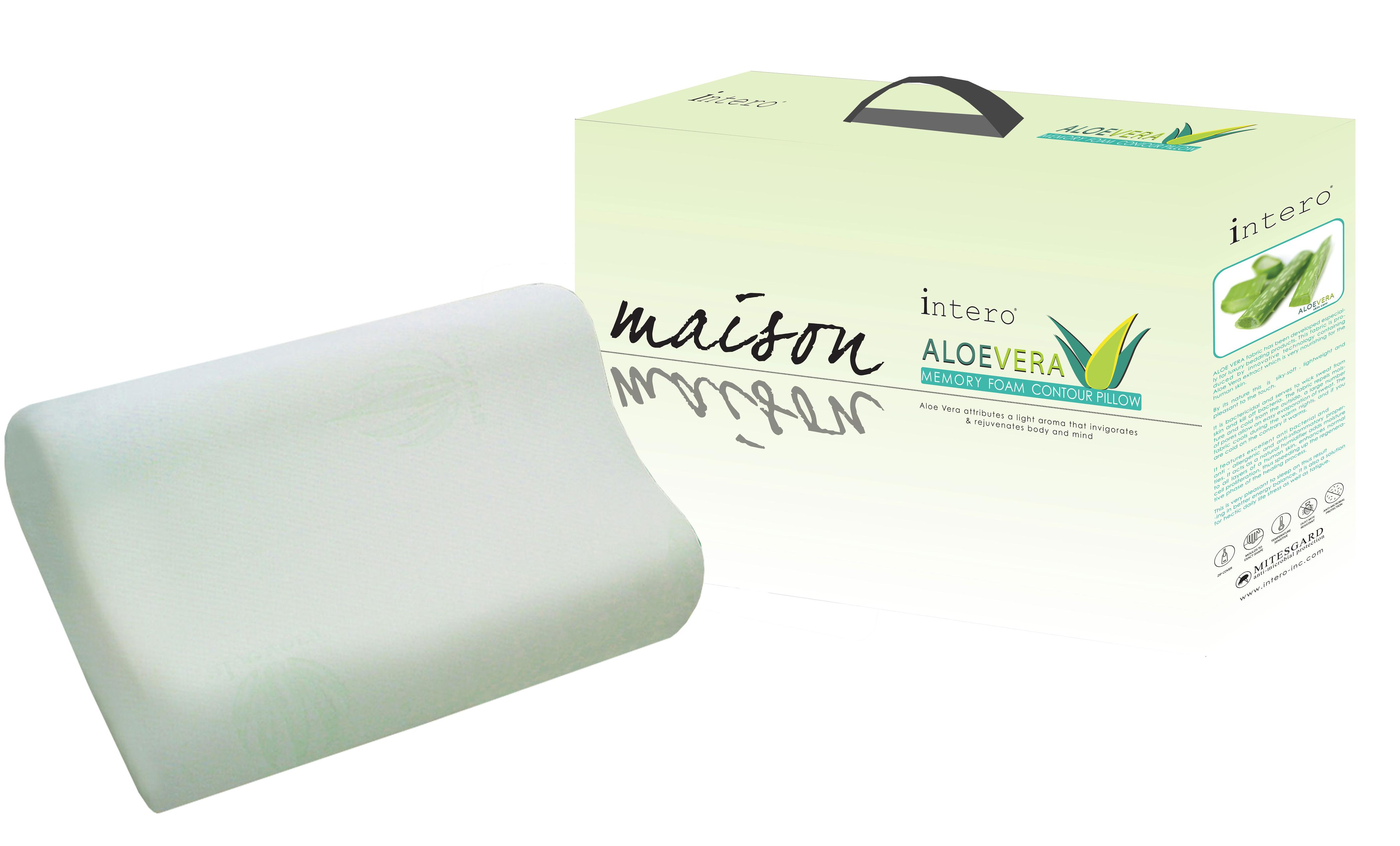 487-Intero-Maison-Aloe-Vera-Memory-Foam-Contour-Pillow-