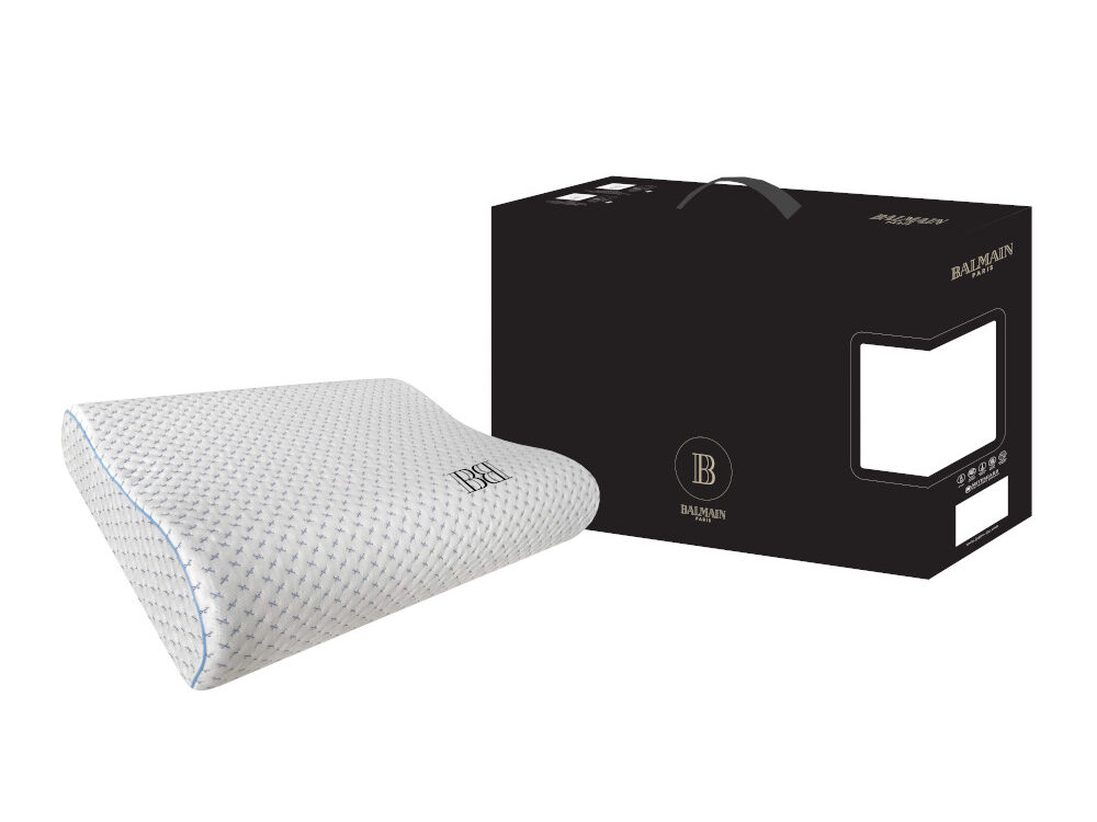 Balmain Black Label Cooltech Charcoal Memory Foam Pillow
