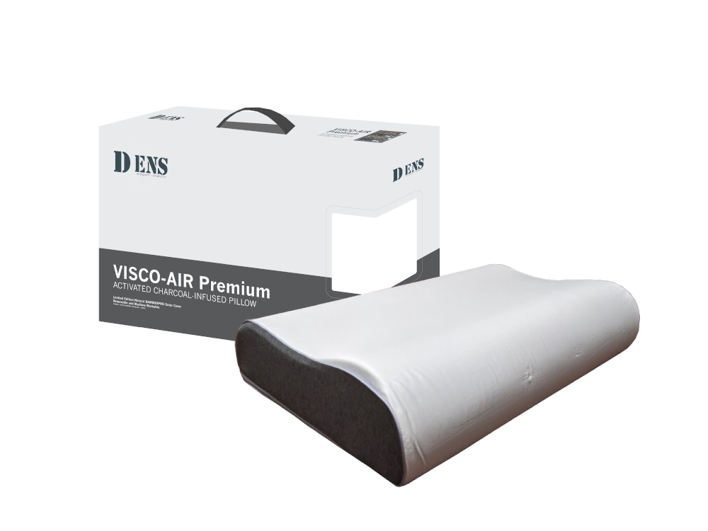 Dens Bamboopro Charcoal In-fused Memory Foam Pillow