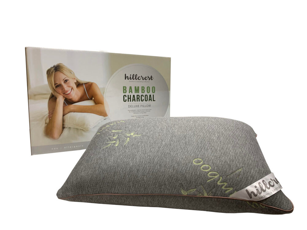 Hillcrest Bamboo Charcoal Memory Foam Pillow