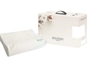 Balmain Organic Cotton Charcoal In-Fused Memory Foam Pillow