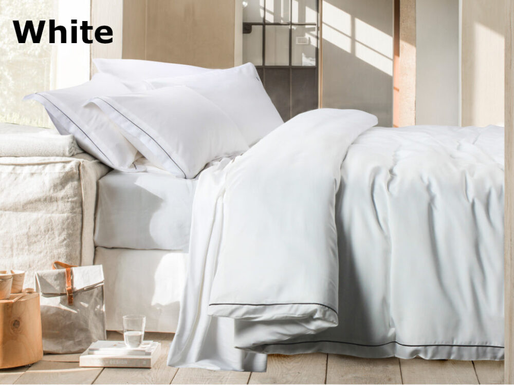 Balmain Aesthetic Tencel Solid Bed Set