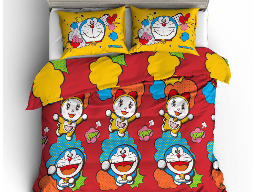 Doraemon Nano Lux 980thread count Design: Adventure
