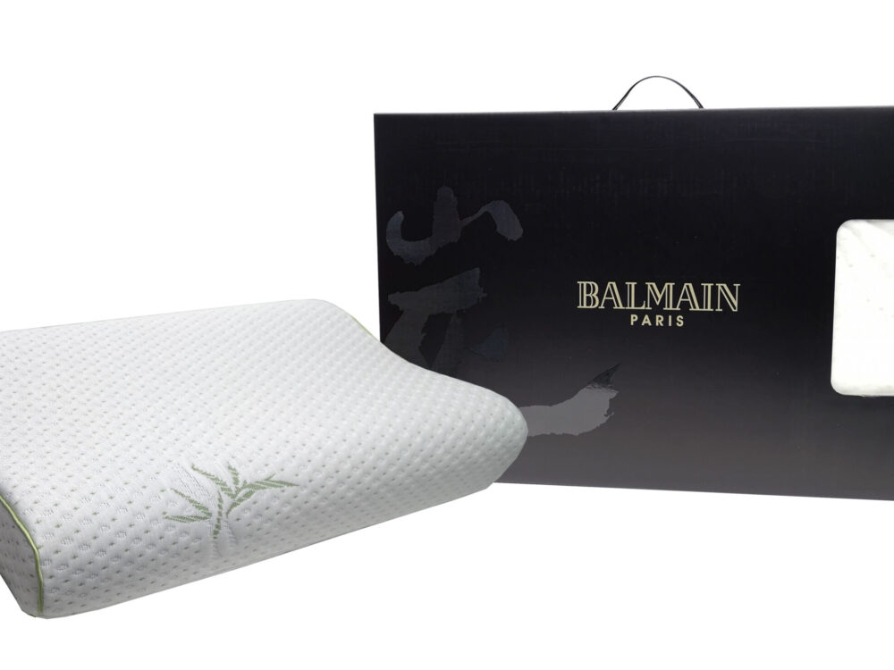 Balmain Bamboo Charcoal Memory Foam Pillow Contour Flash Deal (Free Delivery)