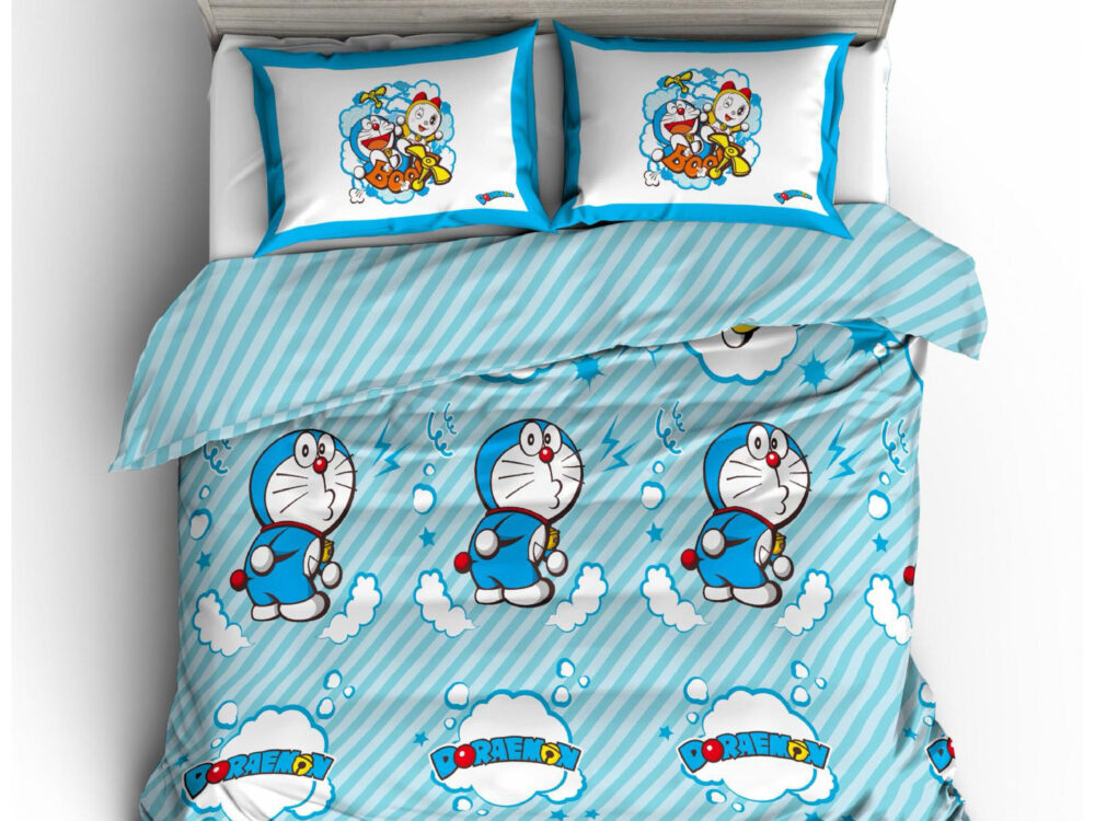 Doraemon Nano Lux 980thread count Design: Stripe I