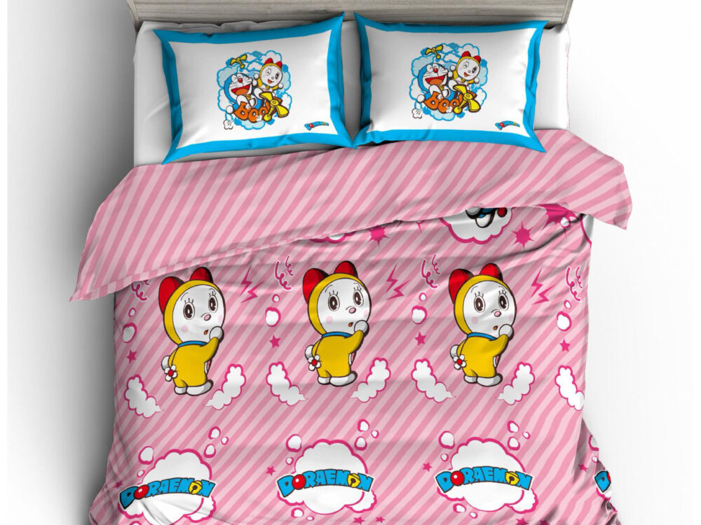 Doraemon Nano Lux 980thread count Design: Stripe II