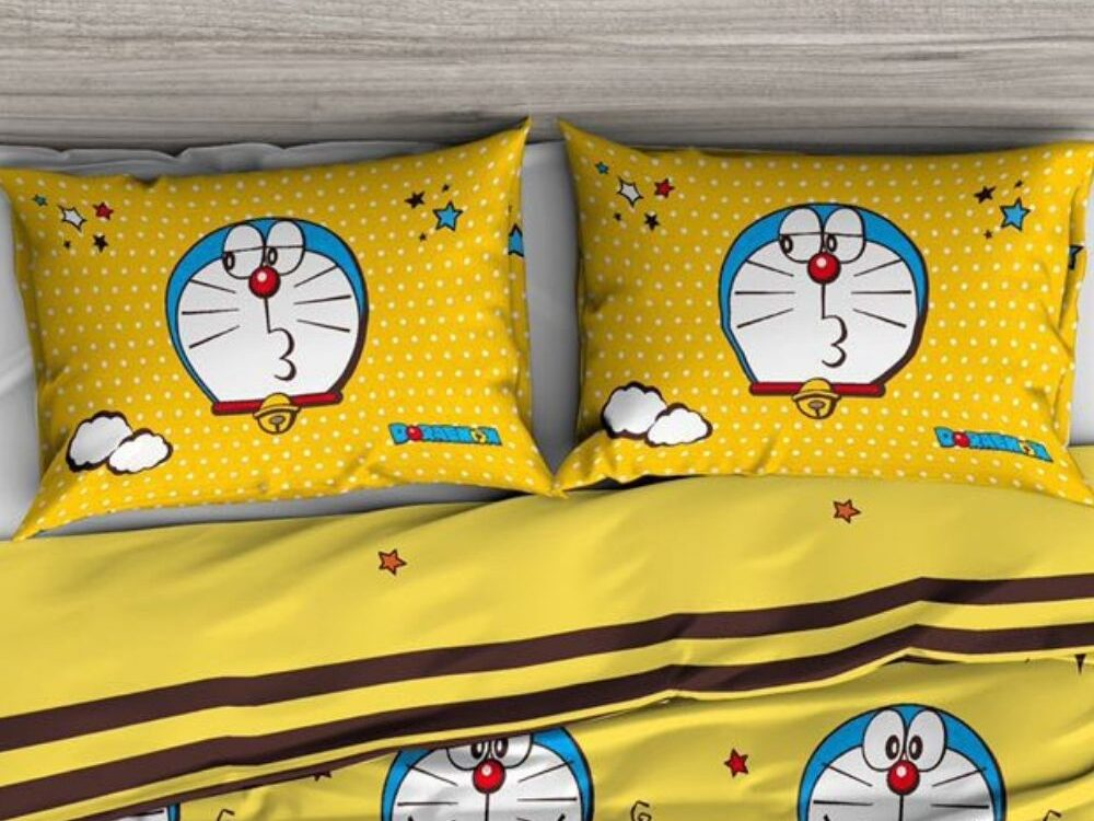 Doraemon Pillow Case (A Pair)