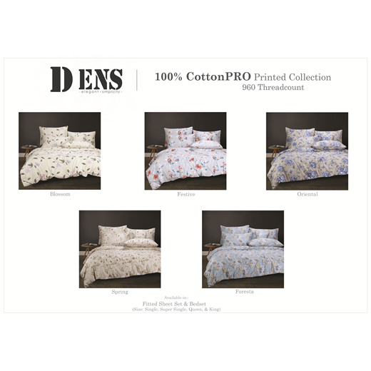 Dens CottonPro Signature Bed Set