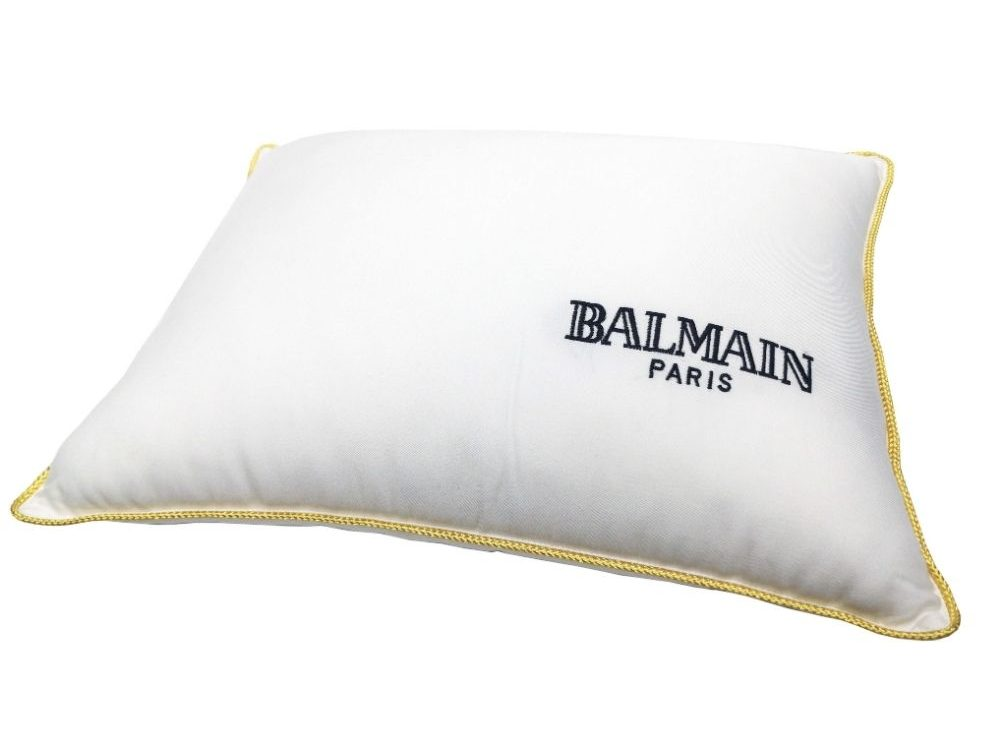 Balmain Limited Edition Nano Fill Tencel Boudoir Pillow