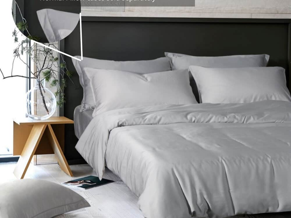 Intero Beyond Aesthetic Bamboopro Solid GRACE Bed Set Ash
