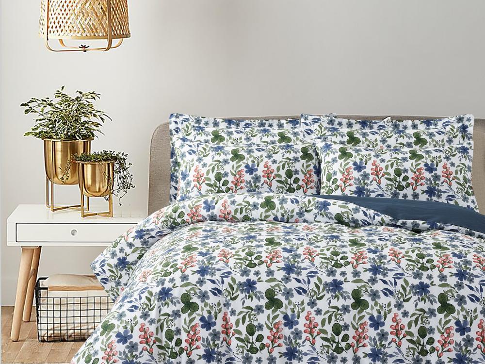 Marie Claire Lumine Printed Bed Set Design: Gloria