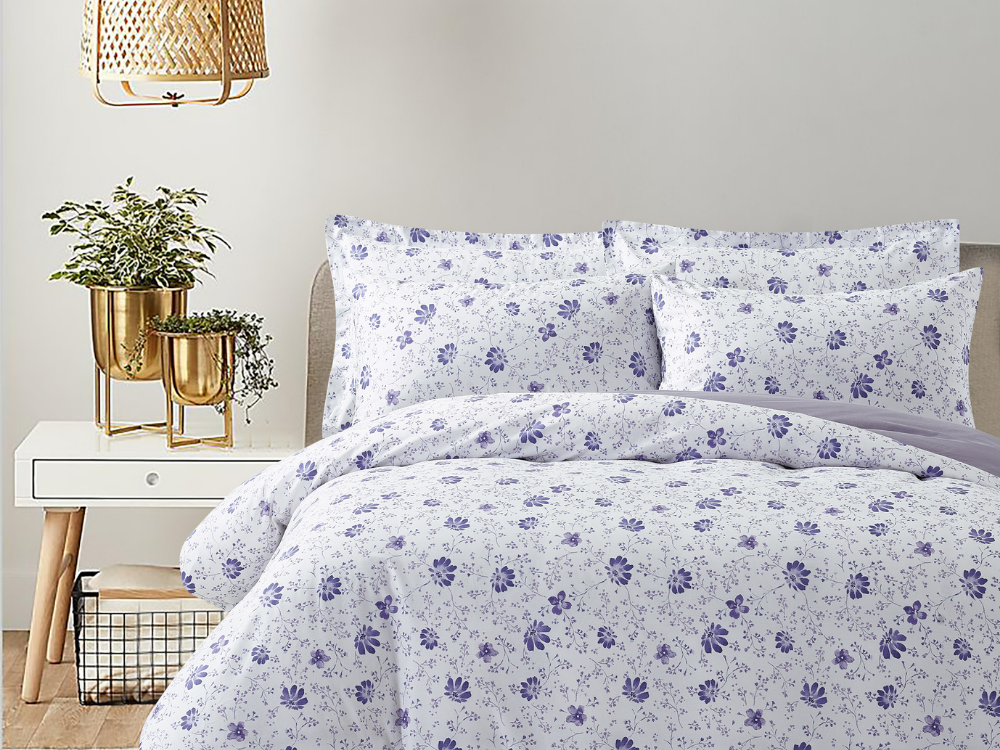 Marie Claire Lumine Printed Bed Set Design: Lisa